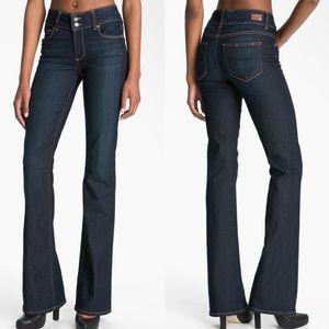 {Paige} Hidden Hills High Waist Bootcut Jeans